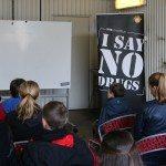 I SAY NO DRUGS - en drogförebyggande kampanj från Droginformation.nu, Trygghetsdagarna i Lomma 2015