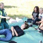I SAY NO DRUGS - en drogförebyggande kampanj från Droginformation.nu, sommarläger 2015