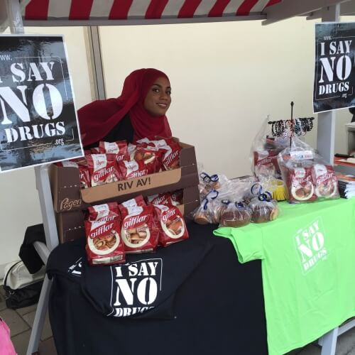 I SAY NO DRUGS - en drogförebyggande kampanj från Droginformation.nu, Biskopsgården 2015.