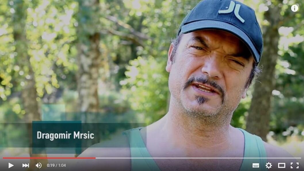I SAY NO DRUGS - filmad intervju  med Dragomir Mrsik - Droginformation.nu