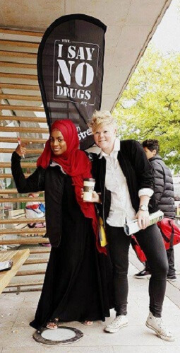 I SAY NO DRUGS från Droginformation.nu - Join Our Movement!