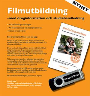 Filmutbildning till Elever om Droger - I SAY NO DRUGS