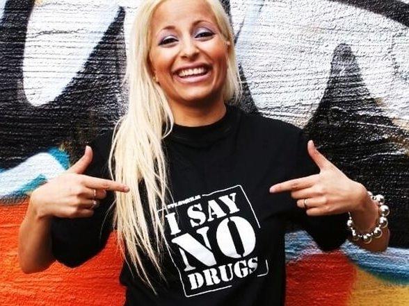 Sommarerbjudande 2017 I SAY NO DRUGS T-shirt och Tjejtopp