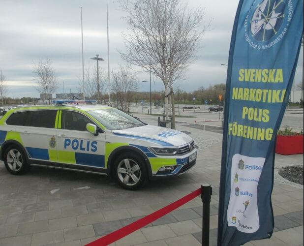 I SAY NO DRUGS var med på Svenska Narkotikapolisföreningens utbildningskonferans och årsmöte.