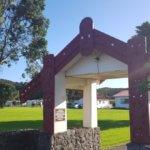 Nya Zeeland tar emot Alex Breeze, I SAY NO DRUGS, här vid ett minnesställe.